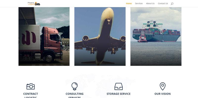 business website design sample