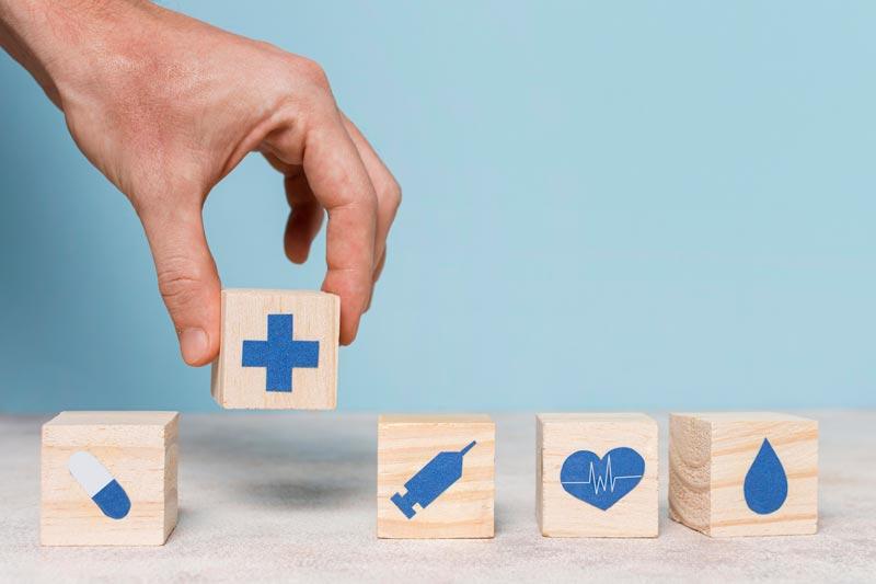 website design for healthcare departments
